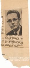 Alfred Freund Memorabilia
